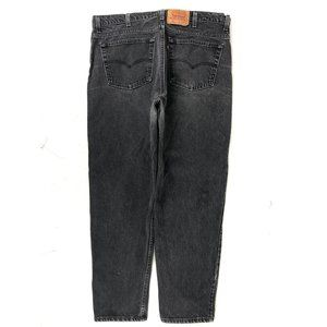 Vintage Levi's 550 Made In USA Gray Jeans